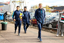 Scott Van Breda of Worcester Warriors arrives at Welford Road - Mandatory by-line: Robbie Stephenson/JMP - 03/11/2018 - RUGBY - Welford Road Stadium - Leicester, England - Leicester Tigers v Worcester Warriors - Gallagher Premiership Rugby