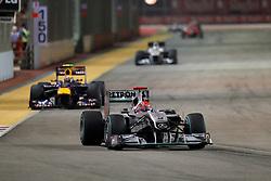 Motorsports / Formula 1: World Championship 2010, GP of Singapore, 03 Michael Schumacher (GER, Mercedes GP Petronas),