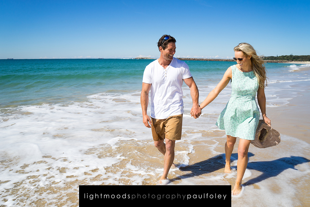 Family fun at an Australian Beach