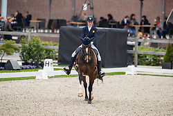 Kuintjes Zoe, NED, Primeval Brittsion<br /> Nederlands Kampioenschap Dressuur - Ermelo 2019<br /> © Hippo Foto - Dirk Caremans