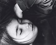 The daughter of my professor, Steve Liebman, I found her sleeping under a tree...