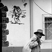 DAILY VENEZUELA.Merida Center, Merida State. Venezuela 2000. .(Copyright © Aaron Sosa)