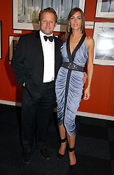 MR DAVID ROSS co-founder of CarPhone Warehouse and his girlfriend MISS SHELLEY ROSS at the 28th Game Conservancy Trust Ball in Battersea Park, London SW11 on 18th May 2006.<br /><br />NON EXCLUSIVE - WORLD RIGHTS