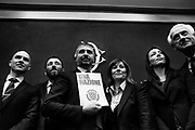 Casapound movement presents the electoral program in the italian Chamber of Deputies. It's the first time that a fascist-inspired group enters in the Italian Parliament since 'fascist twenty years'. Rome 9 Febraury 2018. Christian Mantuano / OneShot