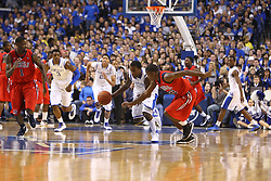 Michael Kidd Gilchrist. UK hosted Ole Miss Saturday, Feb. 18, 2012 at Rupp Arena in Lexington . Photo by