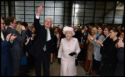 HM The Queen and the Duke of Edinburgh visit  Lloyd's of London, in the City of London, United Kingdom. Thursday, 27th March 2014. Picture by Andrew Parsons / i-Images