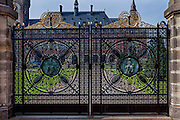 April 25, 2014<br /> Vredespaleis (Peace Palace), home of the International Court of Justice, or World Court. Den Haag (The Hague), Netherlands.<br /> ©2014 Mike McLaughlin<br /> www.mikemclaughlin.com<br /> All Rights Reserved