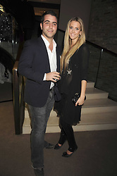 DANIEL SHAMOON and ZOE ONIONS at the Asprey Winter Wonderland party held at their store, 167 New Bond Street, London on 4th December 2008.