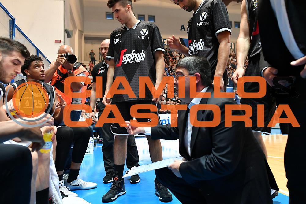 Timeout Virtus<br /> Roseto Sharks - Segafredo Virtus Bologna<br /> Lega Nazionale Pallacanestro 2016/2017<br /> Roseto, 19/05/2017<br /> Foto Ciamillo-Castoria
