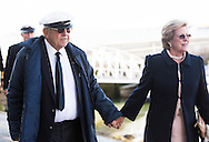 Image licensed to Lloyd Images<br /> The Royal Yacht Squadron Fleet Review. Cowes. Isle of Wight. UK. As part of 200th anniversary of the Royal Yacht Squadron. King Constantine of Greece and Queen Anne-Marie of Greece. Credit - Lloyd Images