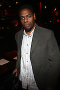 Terrence Mcknight at The Album release for ' If the rains come first ' and performance by Somi held at Le Poisson Rogue on October 13, 2009 in New York City