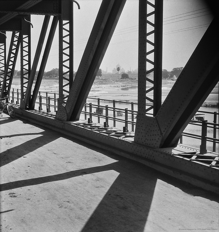 Railway Bridge, Agra, India, 1929