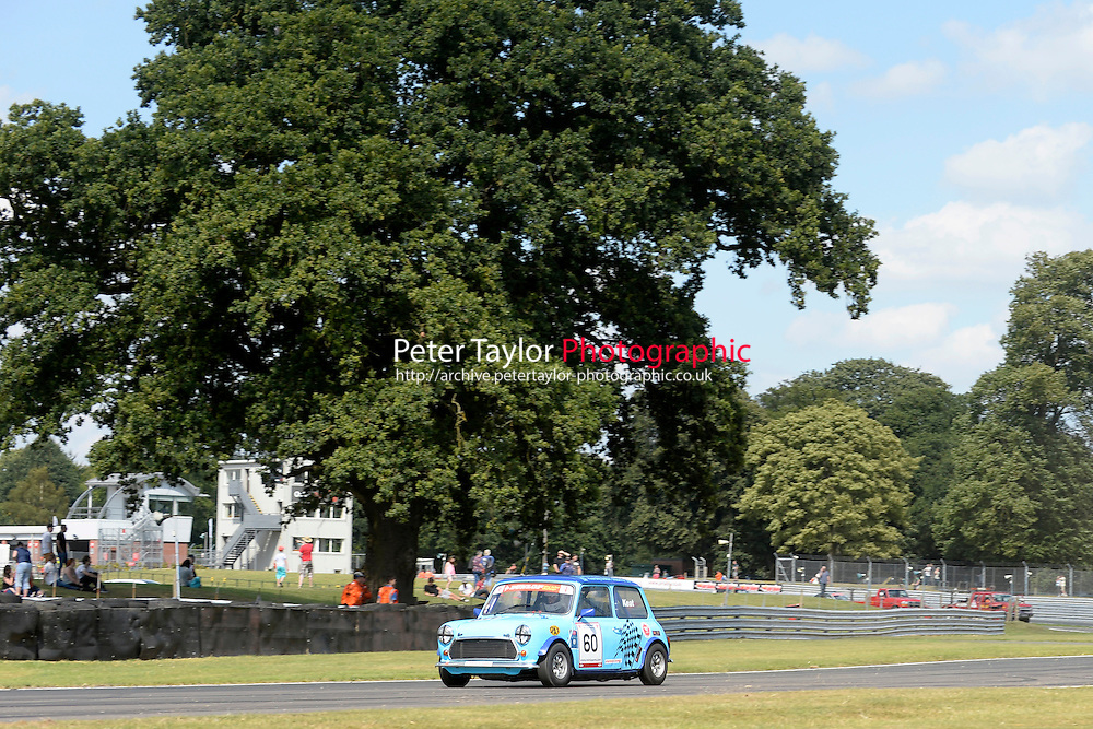 #60 Malcolm Keat Mini 7 during Mini Se7en - Race 1  as part of the Mini Festival  at Oulton Park, Little Budworth, Cheshire, United Kingdom. August 08 2015. World Copyright Taylor/PSP. Copy of publication required for printed pictures.  Every used picture is fee-liable. http://archive.petertaylor-photographic.co.uk