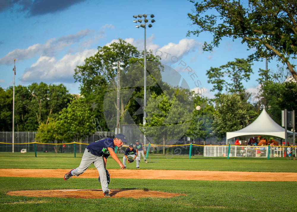 Riverside vs. Oglesby in the 9-11 Illinois State Little League Baseball Championship at Keystone Park in River Forest, Ill. Saturday, Aug. 1, 2015.