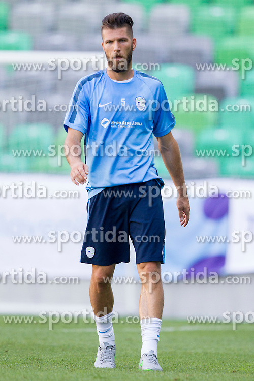 Bostjan Cesar during practice session of Slovenian National Football Team before Euro 2016 Qualifications match against Switzerland, on September 1, 2015 in SRC Stozice, Ljubljana, Slovenia. Photo by Urban Urbanc / Sportida