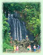 El Yunque's La Coca falls painting