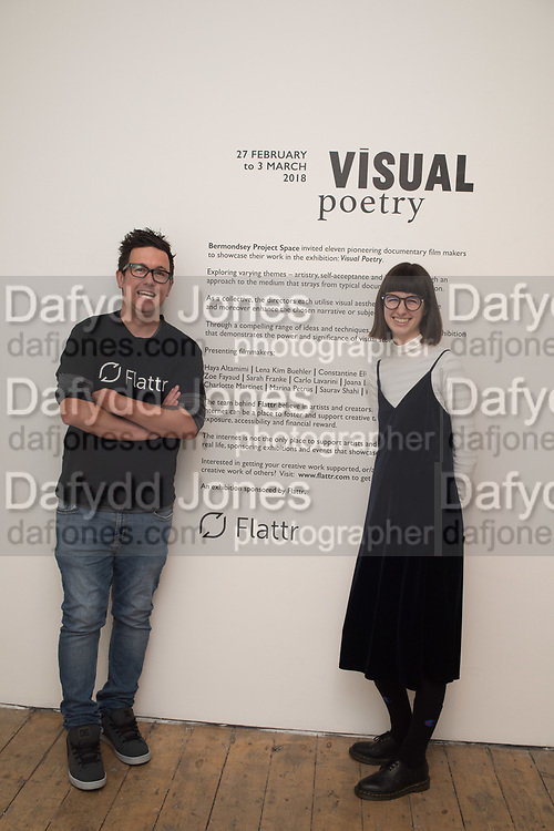 VISUAL POETRY   SHORT FILM SHOWCASE BY BPS AND FLATTR, Visual Poetrey, Film Showcase bu Eleven Pioneering LCC MA Documentary Film students. Bermondsey Project Space, London. 28 February 2018