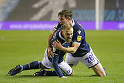 GOAL 1-1 Millwall midfielder Jiri Skalak	(26) scores and celebrates with Millwall defender Ryan Leonard (28) during the EFL Sky Bet Championship match between Millwall and Bolton Wanderers at The Den, London, England on 24 November 2018.
