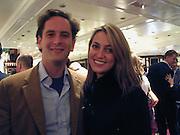 Hugh Warrender and Beatrice Vicenzi. Samantha Shaw charity fashion show. Asprey and Garrard. London. 26 October 2000. © Copyright Photograph by Dafydd Jones 66 Stockwell Park Rd. London SW9 0DA Tel 020 7733 0108 www.dafjones.com