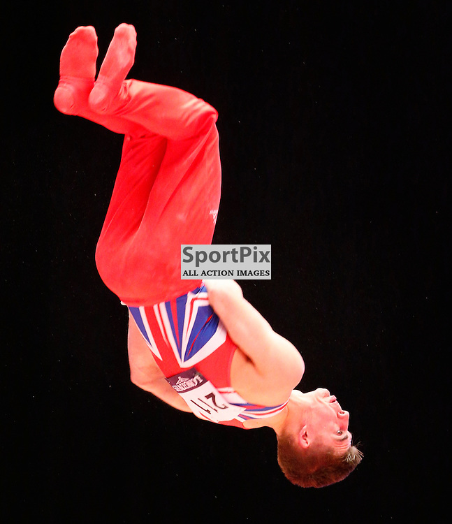 2015 Artistic Gymnastics World Championships being held in Glasgow from 23rd October to 1st November 2015...Max Whitlock (Great Britain) competing in the Still Rings competition..(c) STEPHEN LAWSON | SportPix.org.uk