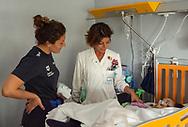 Rosaria Aiello<br /> Visita Sette Rosa Ospedale Policlinico Universitario Agostino Gemelli<br /> Photo Pasquale Mesiano/ Deepbluemedia /Insidefoto