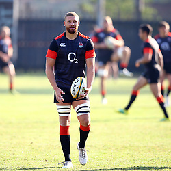 Nick Isiekwe (Saracens) during the England Rugby training session at Jonsson Kings Park Stadium,Durban.South Africa. 13,06,2018 Photo by (Steve Haag JMP)