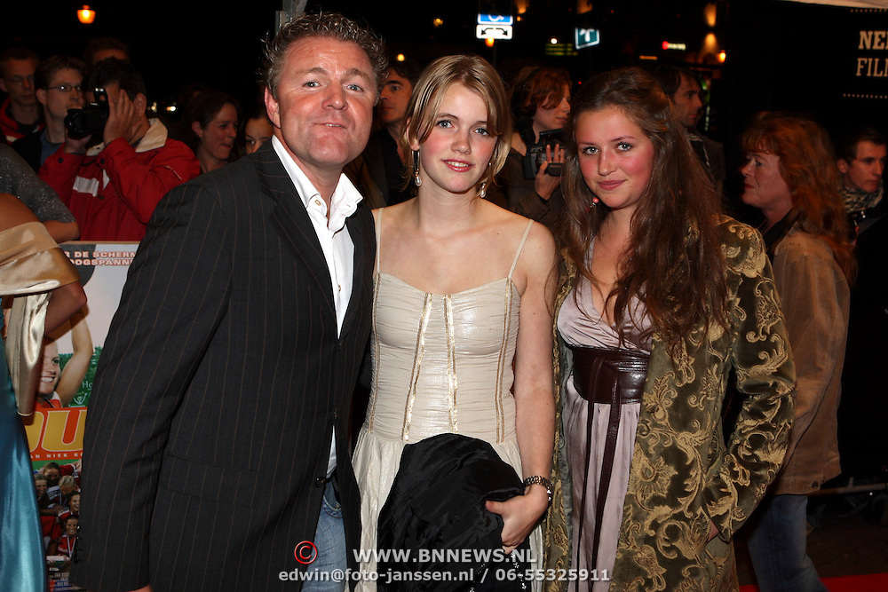 NLD/Utrecht/20070928 - Premiere film Goud over Nederlands dames hockeyelftal, Rene Mioch en ....