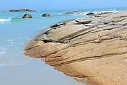Shoreline of the Atlantic Ocean<br /> Kejimkujik National Park (Seaside Adjunct)<br /> Nova Scotia<br /> Canada