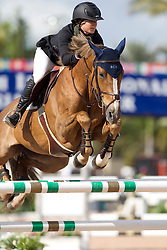 Shulman Sydney (USA) - Little Lady D'Elle<br /> WEF Challenge Round III <br /> Wellington 2012<br /> © Hippo Foto - Cealy Tetly