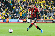 Diego Rico (21) of AFC Bournemouth on the attack during the Premier League match between Bournemouth and Norwich City at the Vitality Stadium, Bournemouth, England on 19 October 2019.