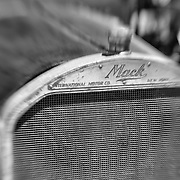 Mack Truck Radiator - Motor Transport Museum - Campo, CA - Lensbaby - Black & White