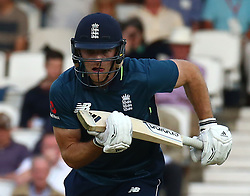 June 13, 2018 - London, England, United Kingdom - England's David Willey .during One Day International Series match between England and Australia at Kia Oval Ground, London, England on 13 June 2018. (Credit Image: © Kieran Galvin/NurPhoto via ZUMA Press)