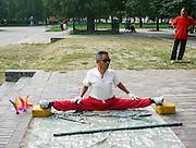 China, Beijing, Tai Chi in the park