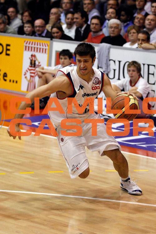 DESCRIZIONE : Biella Lega A1 2007-08 Angelico Biella Armani Jeans Milano<br /> GIOCATORE : Daniele Cinciarini<br /> SQUADRA : Angelico Biella<br /> EVENTO : Campionato Lega A1 2007-2008<br /> GARA : Angelico Biella Armani Jeans Milano<br /> DATA : 02/12/2007<br /> CATEGORIA : Palleggio<br /> SPORT : Pallacanestro<br /> AUTORE : Agenzia Ciamillo-Castoria/G.Cottini