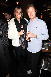 MR CHARLES & LADY LOUISA VAUGHAN at a party to celebrate the publication of Mexican Food Made Simple by Thomasina Miers held at Wahaca, Westfield Shopping Centre, London on 2nd February 2010.