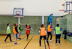 Pictured: <br /> <br /> Further and Higher Education Minister Shirley-Anne Somerville visited Edinburgh College's Granton campus to view the sport facilities and to announce a new GBP465,000 investment fund for the student sport sector.<br /> <br /> Ger Harley | EEm 8 February 2018