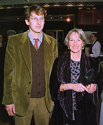 The HON.JULIAN SAINSBURY and his mother LADY SAINSBURY OF PRESTON CANDOVER, at a reception in London on 5th November 1997.MCZ 24
