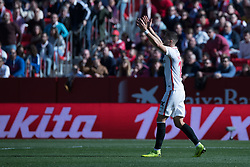 January 26, 2019 - Sevilla, Andalucia, Spain - Andre Silva during the La Liga match between Sevilla FC v Levante UD at the Ramon Sanchez Pizjuan Stadium on January 26, 2019 in Sevilla, Spain  (Credit Image: © Javier MontañO/Pacific Press via ZUMA Wire)