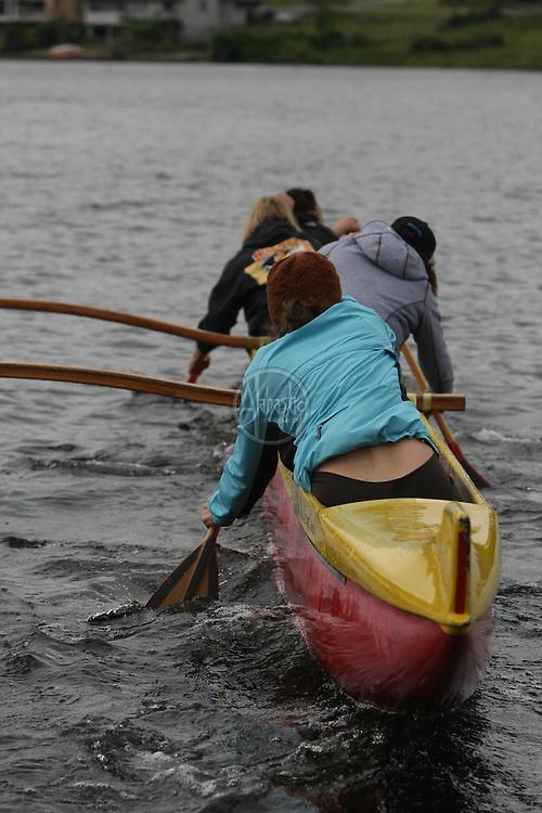 Hui Wa'a O Puget Sound Outrigger Canoe Club memorial for Hal Levinsky.