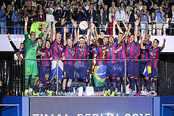 06-06-2015 GER: UEFA Champions League final Juventus - Barcelona, Berlin<br /> Winner FC Barcelona during the UEFA Champions League final match between Juventus FC and Barcelona FC at the Olympia Stadion in Berlin<br /> <br /> ***NETHERLANDS ONLY***