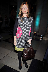 Actress MIRANDA RICHARDSON at the Orion Publishing Group Author Party held at the V&A, London on 18th February 2009.