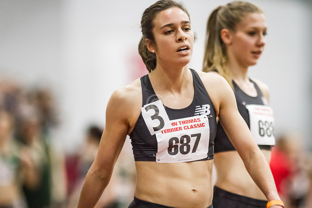 Women's Mile, New Balance, Abbey D'Agostino, Boston University John Terrier Invitational Indoor Track and Field