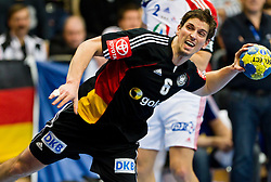 19.01.2011, Kristianstad Arena, SWE, IHF Handball Weltmeisterschaft 2011, Herren, Deutschland (GER) vs Frankreich (FRA) im Bild, // Tyskland Germany 6 Adrian Pfahl // during the IHF 2011 World Men's Handball Championship match  Germany (GER) vs France (FRA) at Kristianstad Arena, Sweden on 19/1/2011.  EXPA Pictures © 2011, PhotoCredit: EXPA/ Skycam/ Johansson +++++ ATTENTION - OUT OF SWEDEN/SWE +++++