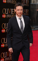 JAMES MACAVOY attends The Laurence Olivier Awards at the Royal Opera House, London, United Kingdom. Sunday, 13th April 2014. Picture by i-Images