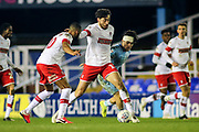Matt Crooks of Rotherham United (17) and Callum O'Hare of Coventry City (17) battle for the ball during the EFL Sky Bet League 1 match between Coventry City and Rotherham United at the Trillion Trophy Stadium, Birmingham, England on 25 February 2020.