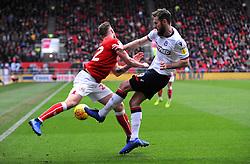 Tomas Kalas of Bristol City clashes with Gary O'Neil of Bolton Wanderers -Mandatory by-line: Nizaam Jones/JMP- 12/01/2019 - FOOTBALL -Ashton Gate Stadium- Bristol,England- Bristol City v Bolton Wanderers - Sky Bet Championship