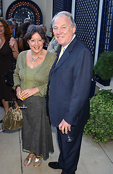 MR & MRS PETER SISSONS at a party hosted by Andrew neil and The Business Newspaper held at The Ritz, Piccadilly, London on 12th July 2005.<br /><br />NON EXCLUSIVE - WORLD RIGHTS