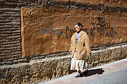 Spanish woman in Leon, Castilla y Leon, Spain