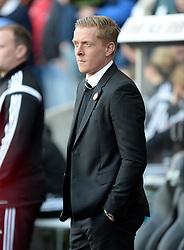 Swansea City Manager, Garry Monk - Photo mandatory by-line: Alex James/JMP - Mobile: 07966 386802 - 29/11/2014 - Sport - Football - Swansea -  - Swansea v Crystal palace  - Barclays Premier League