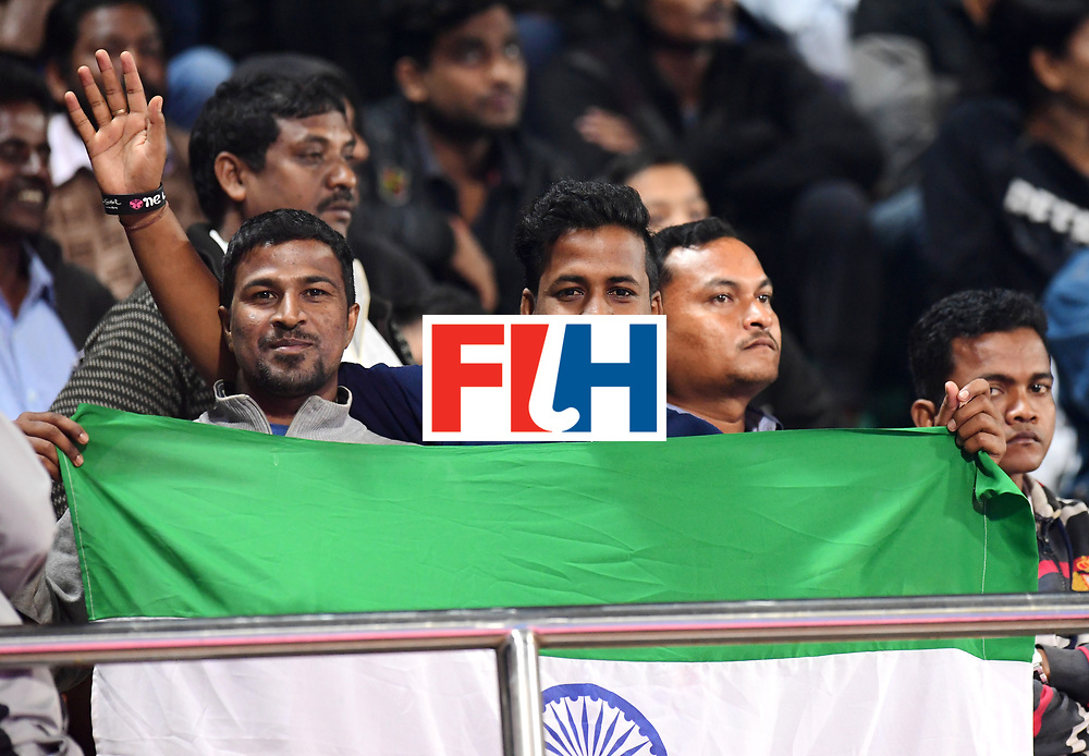 Odisha Men's Hockey World League Final Bhubaneswar 2017<br /> Match id:02<br /> Australia v India<br /> Foto: Fans<br /> WORLDSPORTPICS COPYRIGHT FRANK UIJLENBROEK
